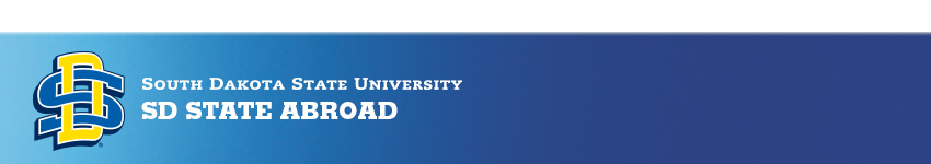 SD State Study Abroad/Study Away Programs - South Dakota State University